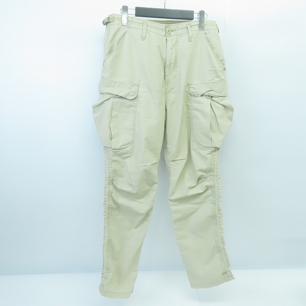 nonnative/ノンネイティブ 18SS TROOPER TROUSERS RELAX FIT COTTON RIPSTOP カーゴパンツ NN-P3351/1