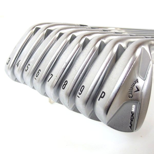 Callaway/キャロウェイ APEX MB FORGED #3~9,Pw 8本セット Dynamic Gold S200