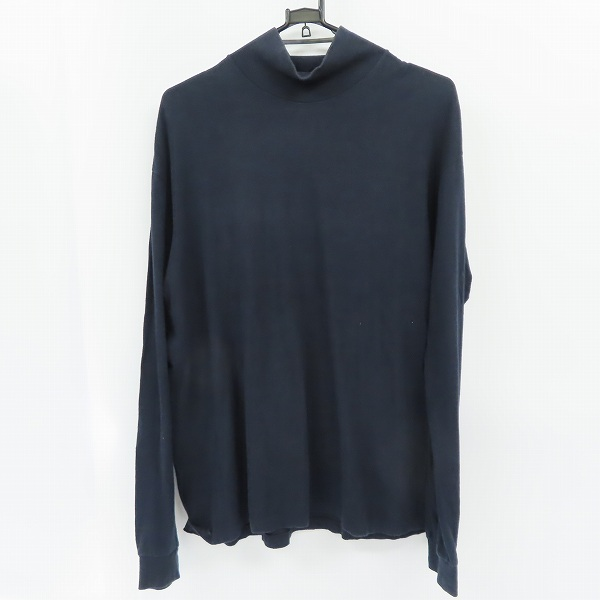 AURALEE/オーラリー 17AW SEAMLESS HI NECK L/S TEE/シームレスハイネックカットソー A7AT03ST/4